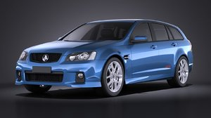 3d holden ve ii model