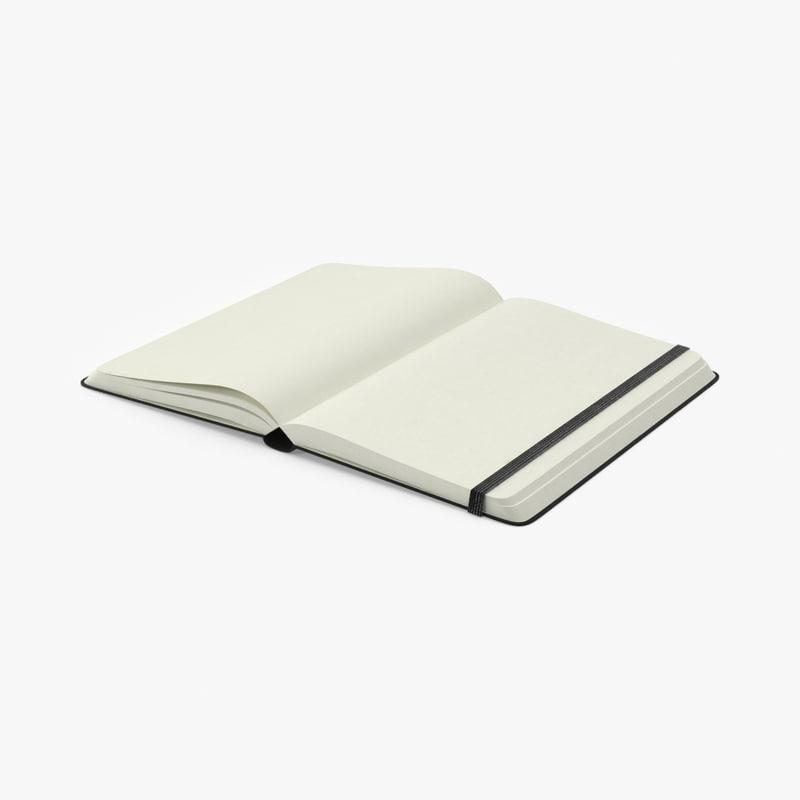 3d max open notebook
