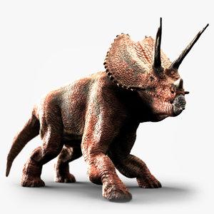 pentaceratops dinosaur animate max