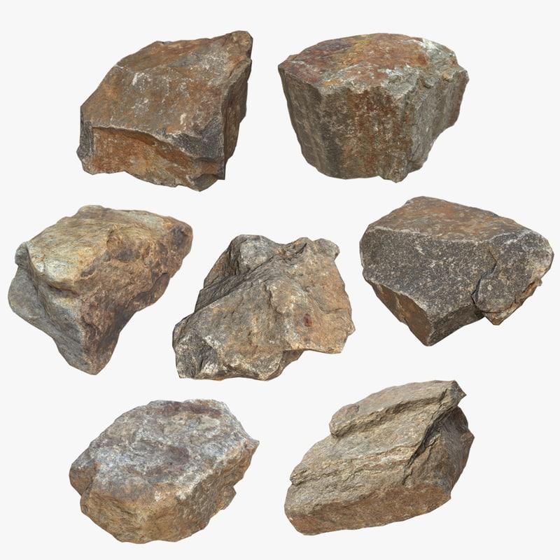 3d max pack stones