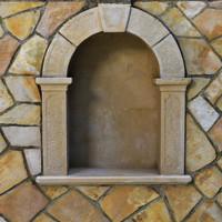 stone alcove 3d model