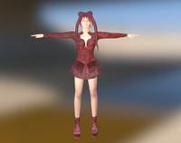Cute Girl 3D