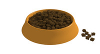 food dog bowl 3d model