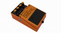 3d model guitar pedal