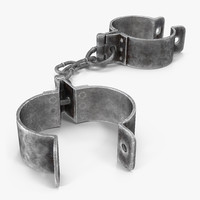 max old metal shackles