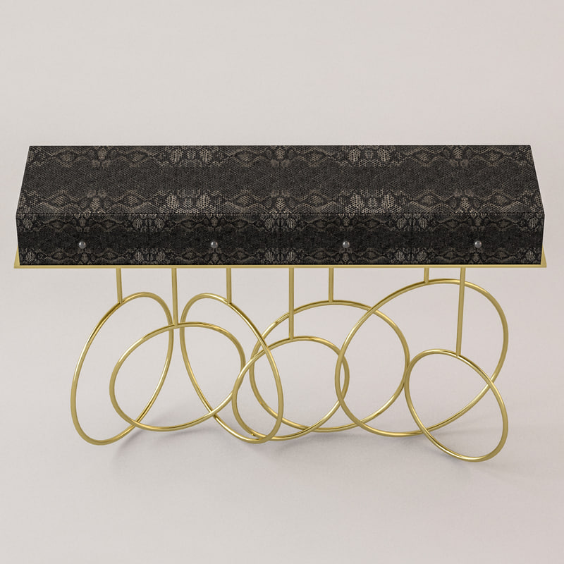 hallway table 3d model