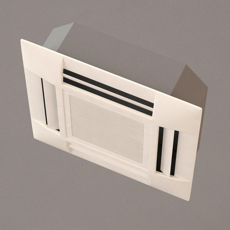 3d max air conditioning split
