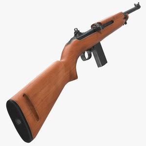 3d model american m1 carbine
