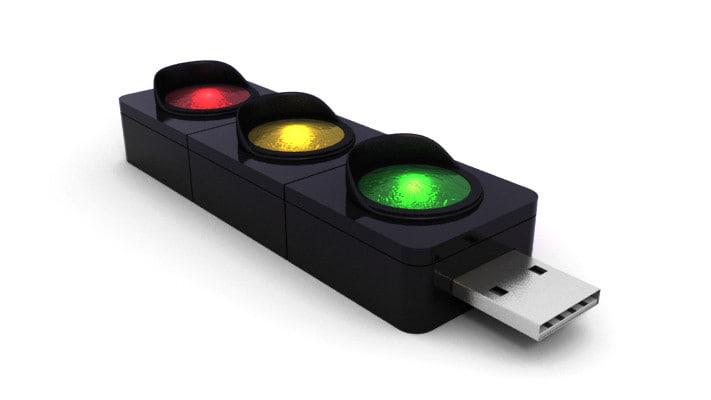 3d usb flash drive modem model