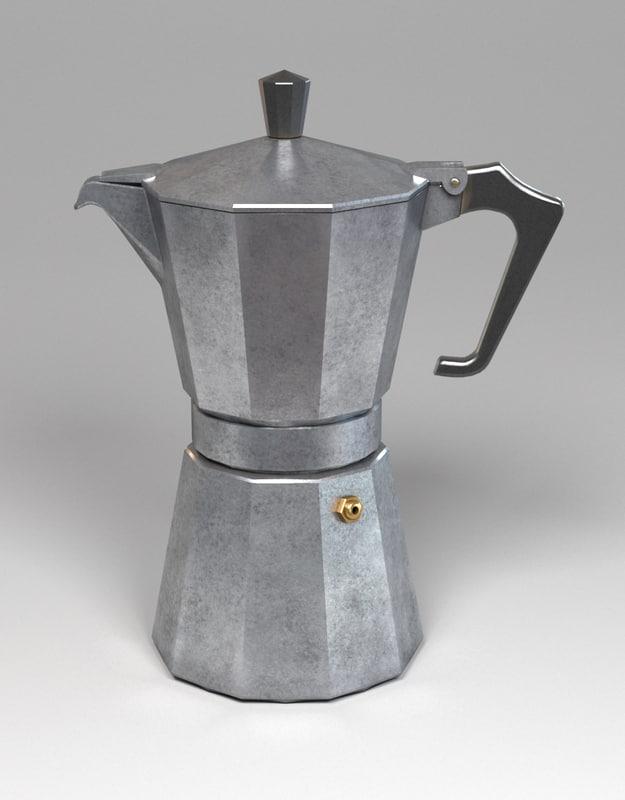 obj vintage italian coffee