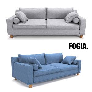 3d fogia morris sofa model