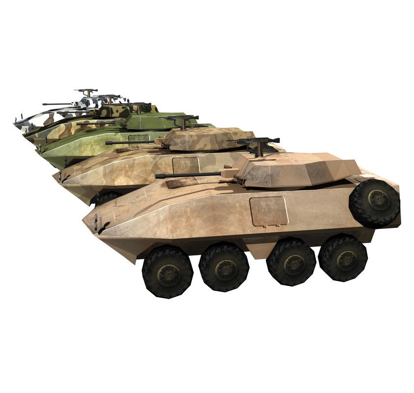 3d model lav apc
