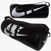 3d black sport bag model