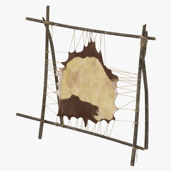 3d leather tanning rack