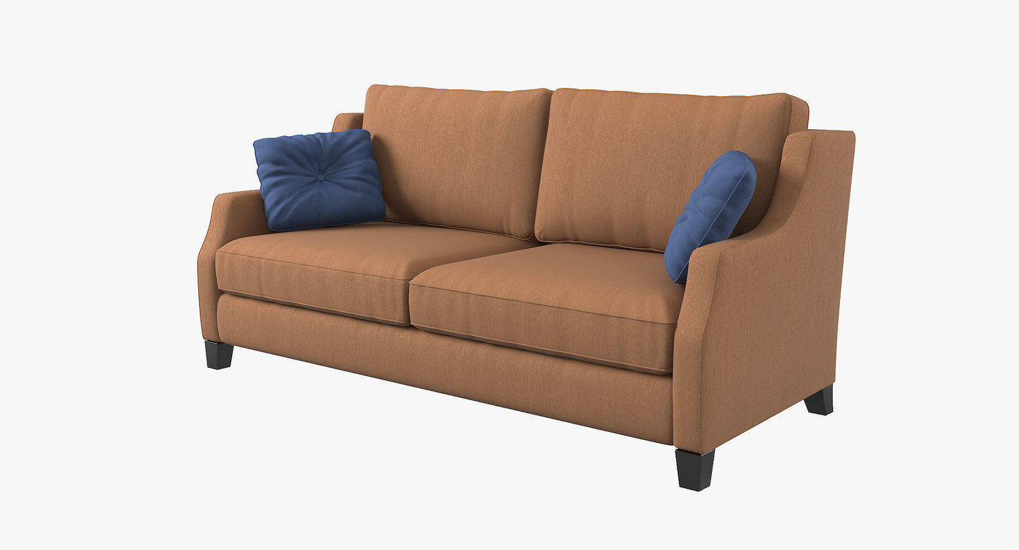 3d model estetica vegas sofa