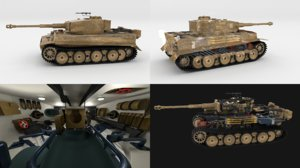 3d built tiger e early