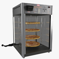 3d pizza warmers model