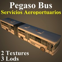 pegaso bus eca 3d model