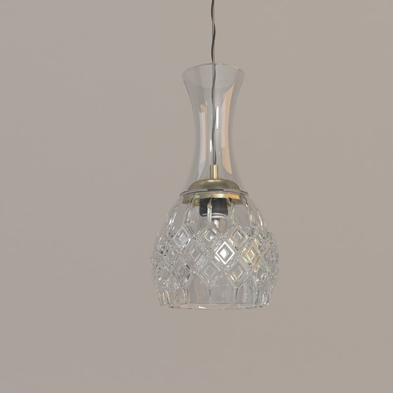 ma crystal pendant bulb lee