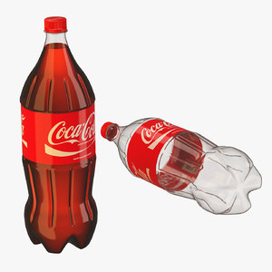 plastic bottle 2 liters 3ds