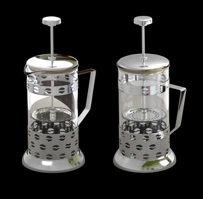 3d teapot tea pot model