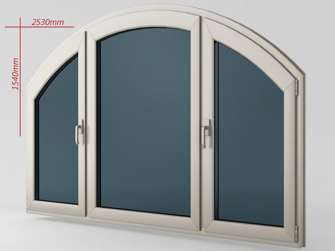 window casement plastic obj