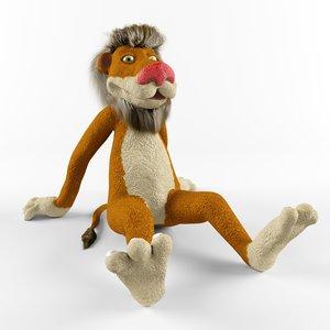 3d children s lion