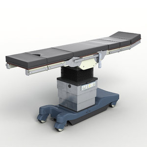modular operating table 3d max