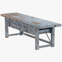 3d blacksmith table