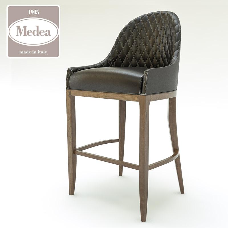 3d cannes sgabello stool