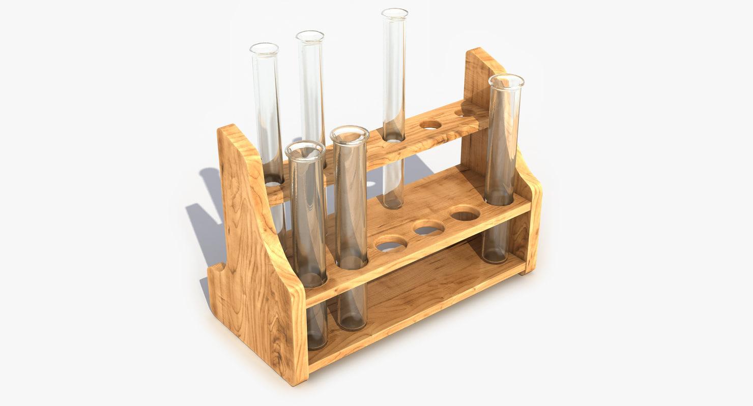 3d model test tube