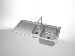 sink solidworks 3d model