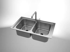 3d model of sink solidworks