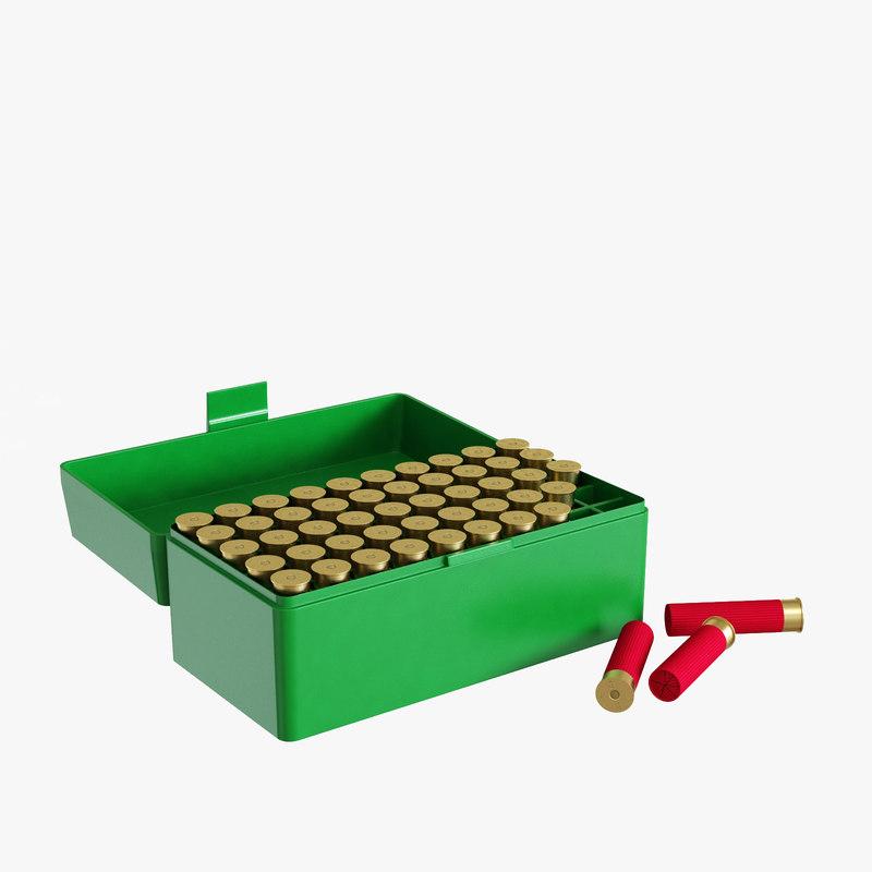 3d ammo box mtm rifle