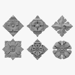 architectural ornament vol 01 3ds