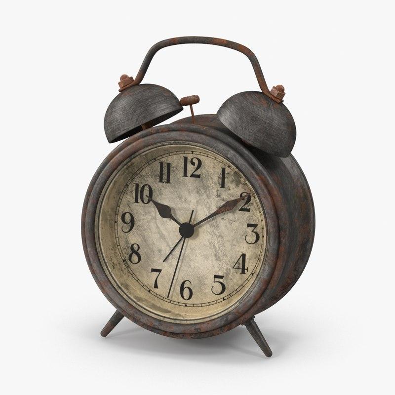 alarm clock dirty tin max