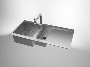 sink solidworks 3d 3ds