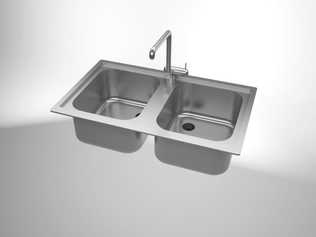 3d sink solidworks model