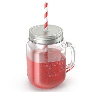 drinking jar 3d model