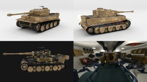 panzerkampfwagen tiger e early obj