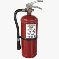 3d ready extinguisher model