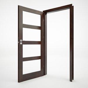 3d modern doors model