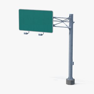 3d highway sign trellis 01