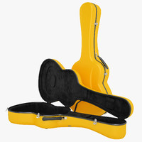3d visesnut guitar case