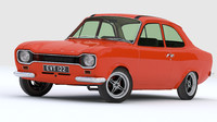 3d model escort mk1 mexico