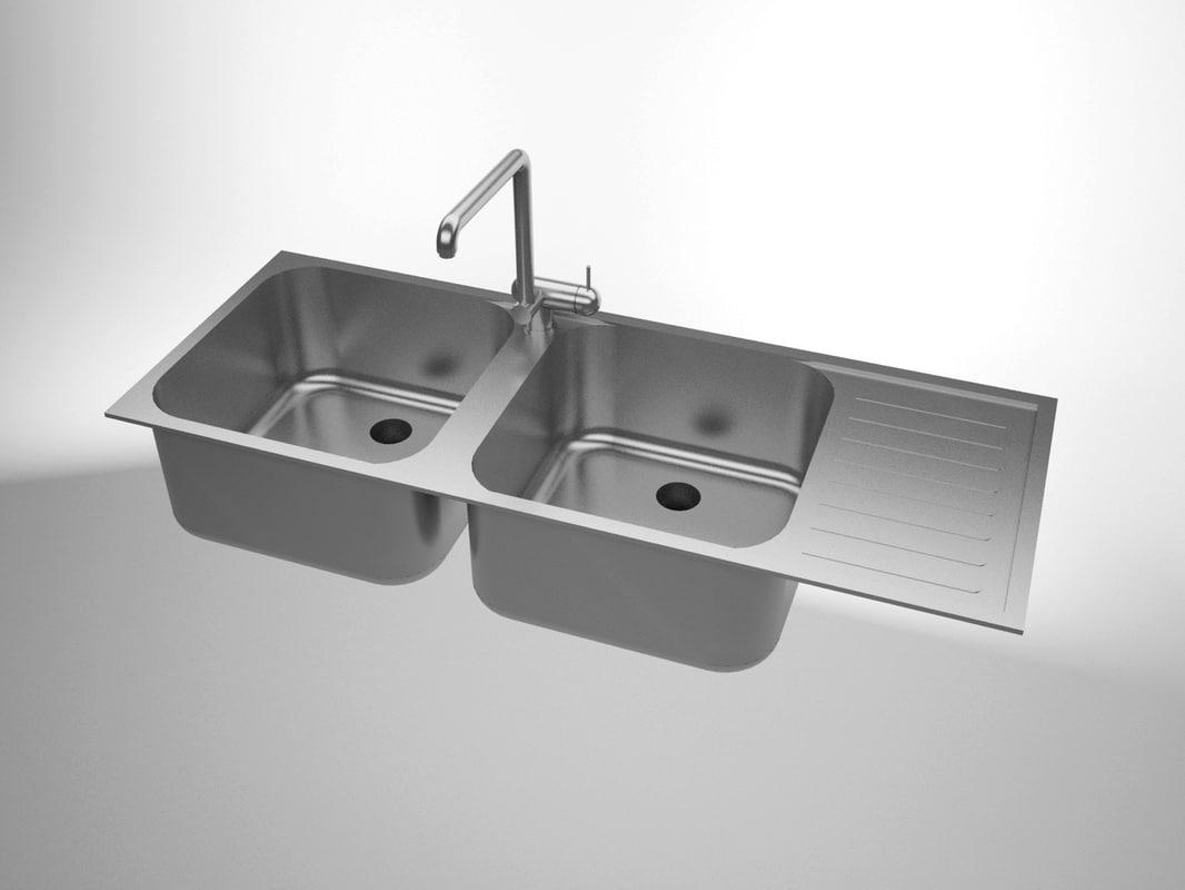 3d model sink solidworks