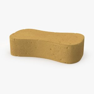 large cleaning sponge 3d max