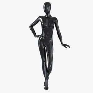 female mannequin 3d max