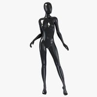 fbx female mannequin
