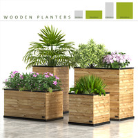 planter box wooden